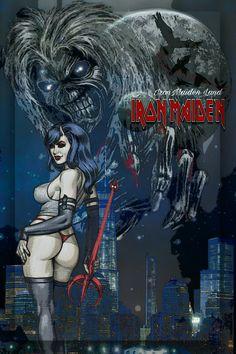 Hard Rock, Heavy Metal Rock, Heavy Metal Bands, Rock Posters, Concert Posters, Iron Maiden Mascot, Iron Maiden Posters, Iron Maiden Albums, Eddie The Head