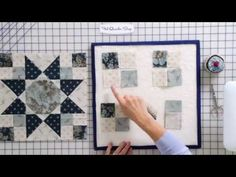 "How to Sew and Press ""Spinning"" Seams on a Four-Patch Quilt Block by Edyta Sitar -- Fat Quarter Shop - YouTube"