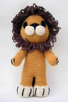 Download Tremblay The Lion Amigurumi Pattern (FREE)