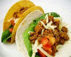This taco recipe may seem more difficult than the simple boxed taco kits, but the taste is so much better and cuts down on all the preservatives in those little packets. And the kids just love taco night! Healthy Taco Recipes, Mexican Food Recipes, Beef Recipes, Dinner Recipes, Ethnic Recipes, Easy Recipes, Easy Dinners For Kids, Kids Meals, Tasty Tacos Recipe