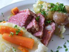 Make delicious corned beef and cabbage with this New York City-inspired recipe from Food.com.