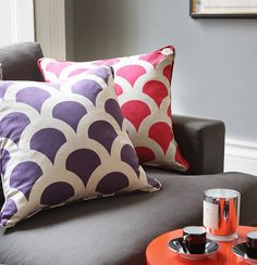 grand kyoto koi cushion by korla | notonthehighstreet.com