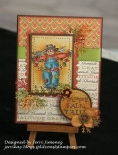 Happy Fall Y'all Ensemble - A Touch of Grace - Card by Jerri Kay - Cards and Paper Crafts at Splitcoaststampers
