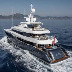 Big Yachts, Super Yachts, Luxury Yachts, Luxury Yacht Interior, Rolls Royce Cars, Luxury Blog, Rolls Royce Phantom, Billionaire Lifestyle, Yacht Boat