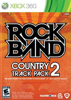 Rock Band Country Track Pack 2  Xbox 360 >>> You can find out more details at the link of the image. Note:It is Affiliate Link to Amazon.