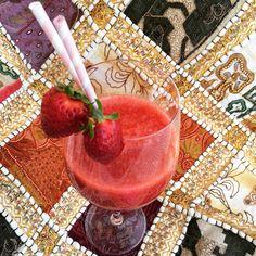 Strawberry purée juice