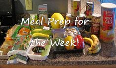 KickStart Fitness and Nutrition: Planning Ahead- Healthy Eating for the Week