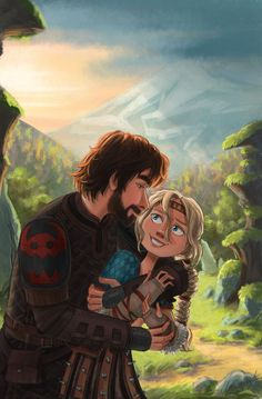 Here's my new illustration of 🤗 let me know if you like this one ❤🌿 Dreamworks Dragons, Disney And Dreamworks, Httyd, How To Train Dragon, How To Train Your, Hiccup And Astrid, Dragon Rider, Dragon Art, Princesas Disney