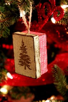 Every year write a letter, to your loved ones, and put it in a special ornament! This would be a perfect tradition to start with my baby and husband!