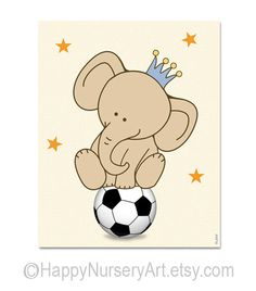 soccer nursery art nursery decor boy boy nursery art safari