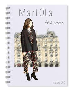 My notebook. Marlota fall 2014