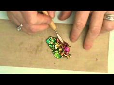Friendly Plastic TV- Dimentional Pendants with Decorative Foils - YouTube