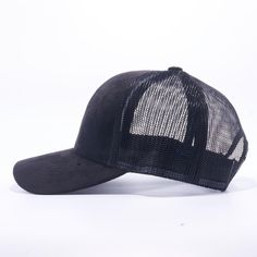 Pit Bull Suede Trucker Hat Wholesale  Black  Pit Bull 8024b5ae0f3f