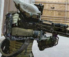 Robo Soldier Concept