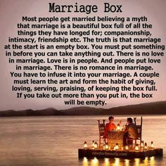 So True! #MarriageBox  #Love #LoveQuotes #Marriage #Wedding #Relationships #Datelivery #DateNight #datenite #Couples #Husband #newlyweds #relationshipgoals #Wife #bae #baby #photooftheday #instamood #amazing #picoftheday #girl #beautiful #like #follow #like4like #bestoftheday #happy #smile #followme #tagafriend