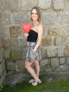 Mini Saia Amor 3 - #mundoshakti #emoções #boho #bohochic #moda #verão2016