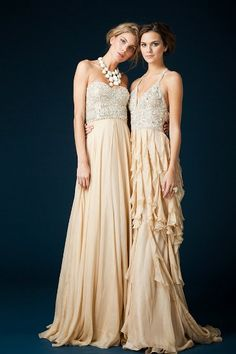 Jovani Couture bridesmaid dresses for a formal wedding