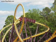 Georgia Scorcher, Six Flags Over Georgia, GA Best Roller Coasters, New Roller Coaster, Best Amusement Parks, Amusement Park Rides, Abandoned Theme Parks, Dekalb County, Kings Island, Cedar Point, Park