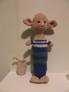 Long Crochet Mouse