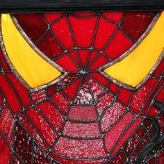 Stained Glass - Marvel Comic Spiderman