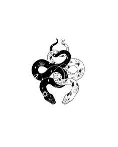 Double snake tattoo - Double snake tattoo Effective images that . - Double snake tattoo – Double snake tattoo Effective images we provide you about tattoo for guys O - Kritzelei Tattoo, Piercing Tattoo, Piercings, Tattoo Snake, Black Snake Tattoo, Small Snake Tattoo, Koi Fish Tattoo, Mini Tattoos, Cute Tattoos