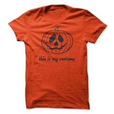 This is my costume, Funny Halloween Tee Shirt
