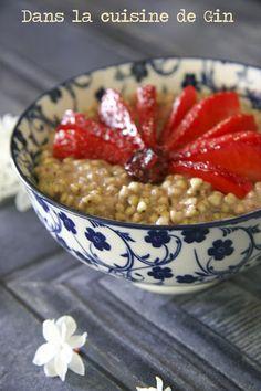 Porridge de sarrasin au sarrasin  Sans gluten et vegan