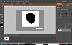 Making silhouettes with Photoshop Elements