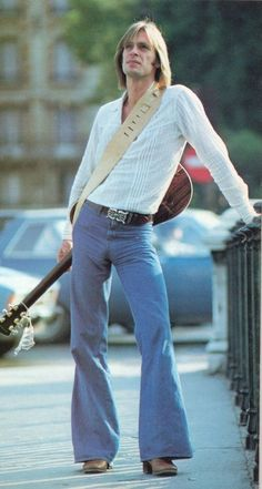 I will never watch the show Deadwood the same again. Not after seeing Keith Carradine sporting quite the impressive and painful looking moose knuckle.