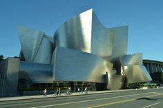Walt Disney Concert Hall, Frank O. Gehry. Los Angelse, CA.