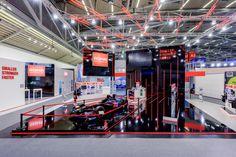 ROHM Semiconductor GmbH Referenzbeispiel zur Electronica, München 303m² Doppelstock
