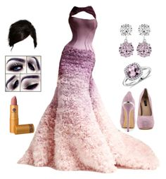 """""""Elegant Event #30"""" by teodoramaria98 ❤ liked on Polyvore featuring moda, Versace, ShoeMint, CARAT* y Blue Nile"""