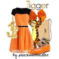 """Tigger"" by princesschandler on Polyvore"