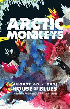 Arctic Monkeys Poster Art Print