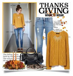 Home For Thanksgiving by annabu on Polyvore featuring STELLA McCARTNEY, Abercrombie & Fitch, Balenciaga, Alexis Bittar and thanksgiving