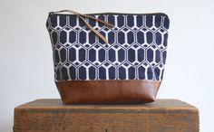 The Geometori Pouch ///// Geometric Pouch. by gracedesign on Etsy, $48.00