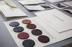 Lotuff Leather by Bluerock Design , via Behance