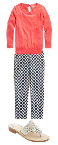 J.Crew Skimmer Pants for Summer!