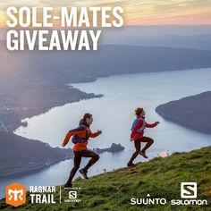 What makes a running buddy relationship even stronger? Matching Salomon shoes and Suunto watches. Enter now! Ends August 22nd.