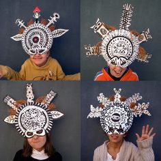 Super African Art Projects For Children Paper Plates Ideas African Art Projects, African Crafts, Arte Elemental, Classe D'art, Afrique Art, 4th Grade Art, School Art Projects, Masks Art, Middle School Art