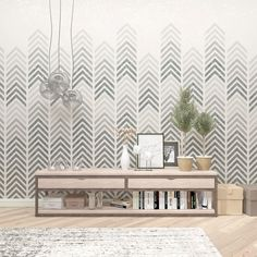 Try our new all-over, reusable Geometric wall art stencil for your next DIY project and re-imagine the walls, fabrics, and floors of your home! We are confident you'll be pleased with the quality of y Home Design Diy, Decor Interior Design, Diy Home Decor, Interior Decorating, Decorating Ideas, Decor Ideas, Geometric Stencil, Geometric Wall Art, Damask Stencil