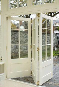 Resultado de imagen para division con puerta plegadiza y vidrio arriba