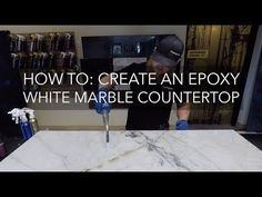 Epoxy countertops are an quick and easy way to refinish existing countertops. Completely customize your kitchen with a durable, long lasting coating.