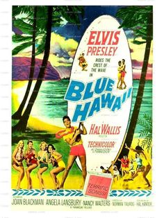 Blue Hawaii Elvis Presley 1961 Movie Poster Print Download Classic Movie Prints No 503. $1.00, via Etsy.