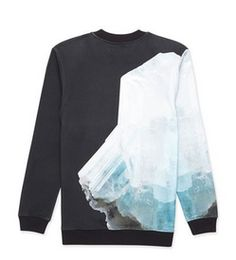 Blood Brother [backside] Cotton Crystal Print Sweatshirt http://blood-brother.co.uk/shop/brushed-cotton-crystal-print-sweatshirt.html