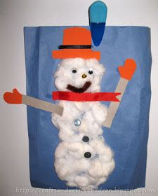 Crafts -N- Things for Children: Create-A-Snowman Craft {Great for Toddlers}