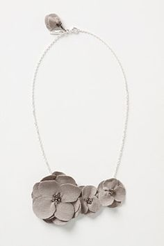 anthropologie felt flower bib necklace--could totally DIY.  or maybe make as an embellishment?