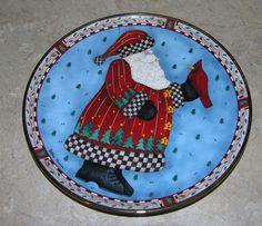 Royal Doulton A Christmas Greeting Debbie Mumm Plate  $14.95 DISCOUNTS