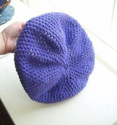 30 Slouchy Beanie Beret Tam Cap Hat Free Crochet Patterns - Yahoo