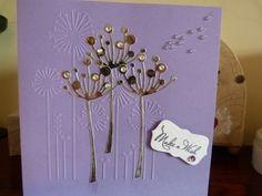 Make a Wish Lilac Birthday Card £1.75